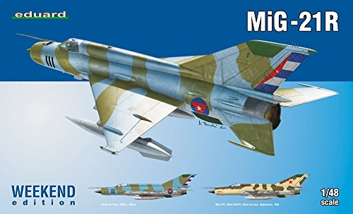1:48 Eduard キット Weekend Mig 21r Model キット (海外取寄せ品)