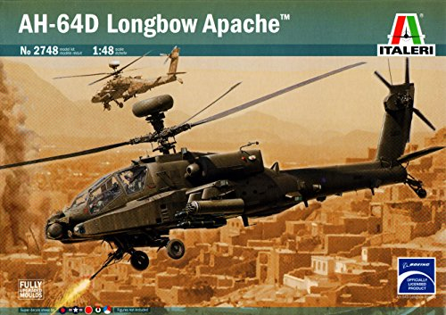 ITA2748 1:48 Italeri AH-64D Longbow Apache [MODEL BUILDING KIT] (海外取寄せ品)