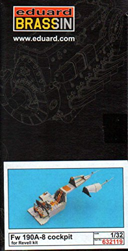 EDU632119 1:32 Eduard Brassin Fw 190A-8 コックピット セット おすすめ特集 for use ご注文で当日配送 model the with kit キット Revell 海外取寄せ品 MODEL ACCESSORY