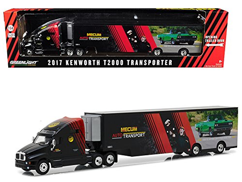 Kenworth T2000 Mecum Auctions Transporter Hobby Exclusive 1/64 Diecast Model Car by GreenLight 29928 (海外取寄せ品)