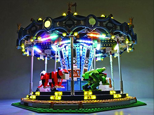 <title>Carousel ライティング キット for セット 10257 by Brick ◆高品質 Loot 海外取寄せ品</title>
