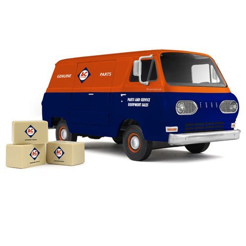 1960's Ford Allis-Chalmers Van with Boxes 1/25 by ファースト ギア 40-0385 (海外取寄せ品)