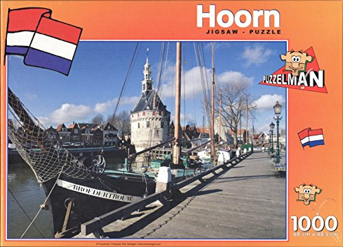 Puzzleman 1000 ピース パズル - Hoorn,Netherlands By Rob Verhagen (海外取寄せ品)