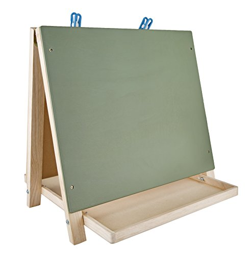 CP Toys テーブル Top 3-ウェイ Easel with Chalkboard, ホワイト Board and 2 クリップ (海外取寄せ品)
