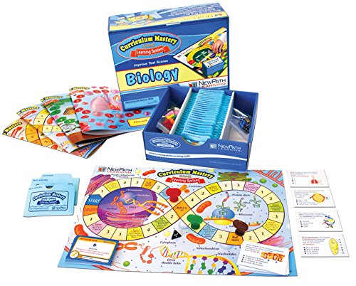 NewPath Learning 24-9007 Biology Review Curriculum Mastery ゲーム, ハイ スクール, クラス パック (海外取寄せ品)