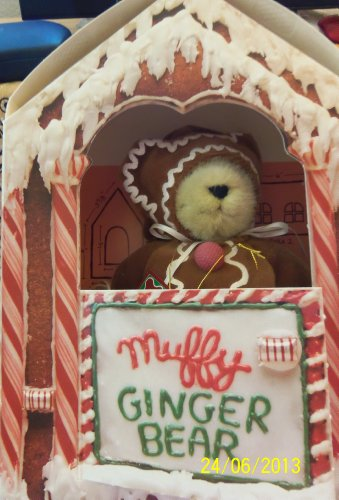 Muffy Vanderbear Gingerbear Ginger クマ リミット Edition Collectible Teddy クマ (海外取寄せ品)