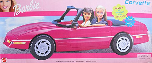 バービー Barbie Corvette Convertible Vehicle - クルーズ With バービー Barbie Doll! (1999) (海外取寄せ品)
