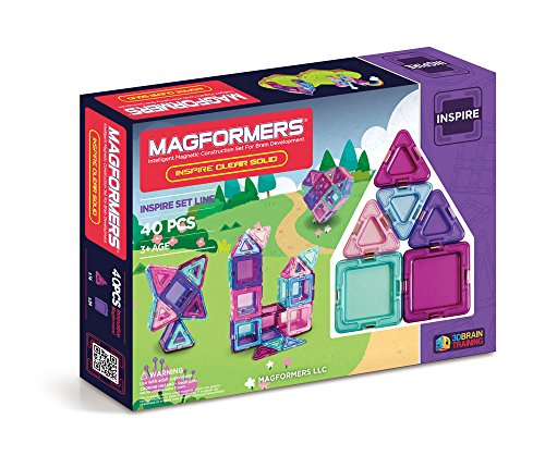 Magformers ソリッド Inspire セット (40-pieces) (海外取寄せ品)