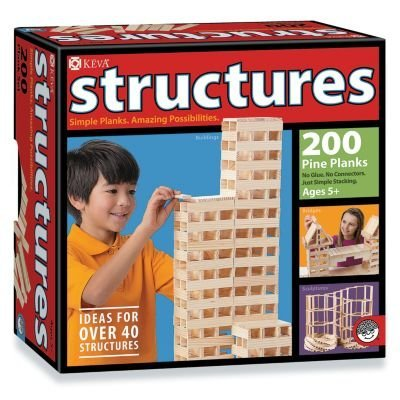KEVA Structures 200 Plank セット (海外取寄せ品)