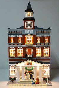Town Hall ライティング キット for レゴ 10224 セット (LEGO セット Not Included) by Brick Loot (海外取寄せ品)