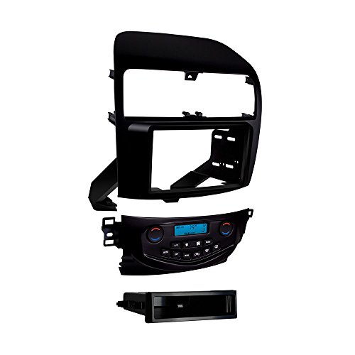 Metra 99-7809B Double/シングル DIN Dash キット for 2004 - 2008 Acura TSX without ナビゲーション (Matte Black) (海外取寄せ品)