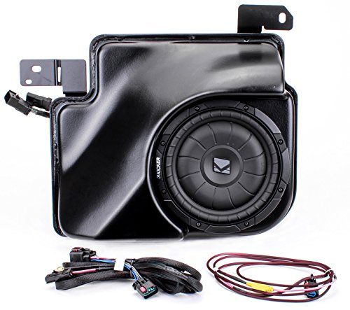 Kicker SSIEXT07 Powered Subwoofer Upgrade System for 2007-up Chevrolet Silverado and GMC Sierra Extended Cab (海外取寄せ品)