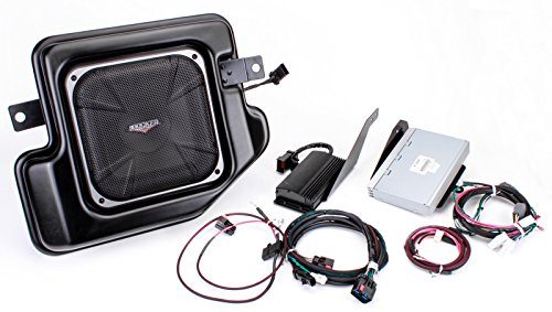 Kicker PRAMCQ09 マルチ-Channel Amplifier and Powered Subwoofer Upgrade キット for 2009-2012 Dodge Ram Crew and クワッド Cab (海外取寄せ品)