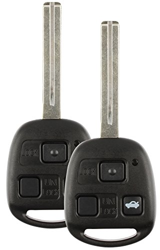 Discount Keyless Remote Entry リプレイスメント Uncut Ignition Car キー フォブ For Lexus ES300 SC300 SC400 HYQ1512V (2 Pack) (海外取寄せ品)