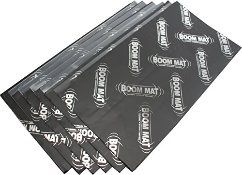 DEI 050206 Boom Mat Sound Damping Material with Adhesive Backing, 12.5