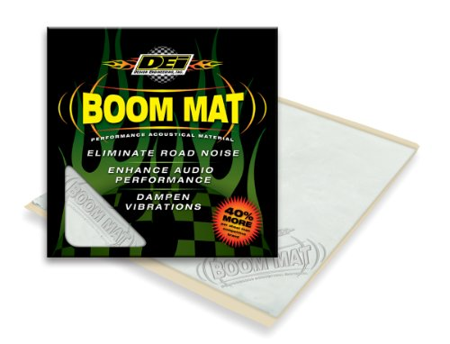 DEI 050202 Boom Mat Sound Damping Material with Adhesive Backing, 12