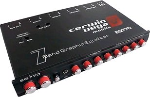 CERWIN ベガ EQ-770 7-バンド Parametric E with Auxiliary Input (海外取寄せ品)