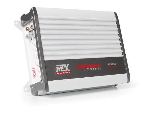 MTX Audio WET75.2 200W RMS 2-Channel クラス A/B マリーン Amplifier (海外取寄せ品)