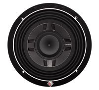 Rockford P3SD48 P3 Punch Shallow mount 8-インチ DVC 4-Ohm Subwoofer (海外取寄せ品)