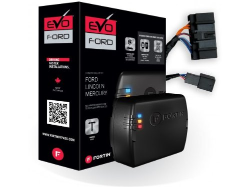 Fortin - EVO-FORT1 - Stand-Alone Add-On Remote Start Car スターター System For Ford ラウンド レギュラー キー Vehicles (海外取寄せ品)