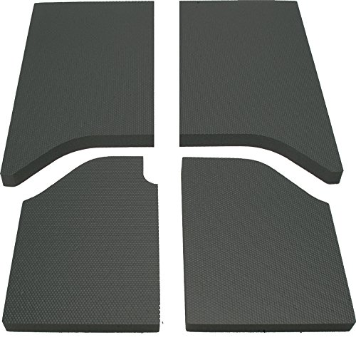 DEI 050138 Boom Mat Sound Deadening Headliner for 2-Door Jeep Wrangler (2011-2016) - ブラック (海外取寄せ品)