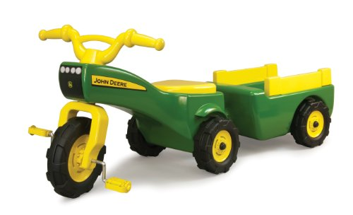 John Deere Pedal Tractor And Wagon (海外取寄せ品)