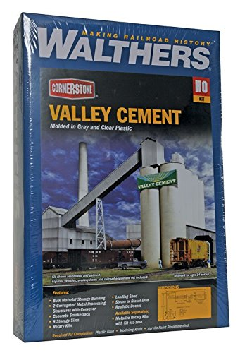 Walthers Cornerstone Valley セメント Plant (海外取寄せ品)