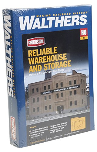 Walthers Cornerstone Reliable Warehouse & ストレージ Toy (海外取寄せ品)