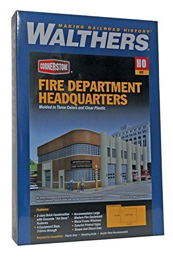 Walthers Cornerstone ファイア Dept Headquarters (海外取寄せ品)