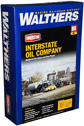 Walthers Cornerstone Series キット HO Scale Interstate Fuel & オイル (海外取寄せ品)