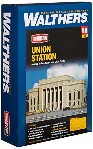 Walthers Cornerstone Series キット HO Scale Union Station (海外取寄せ品)