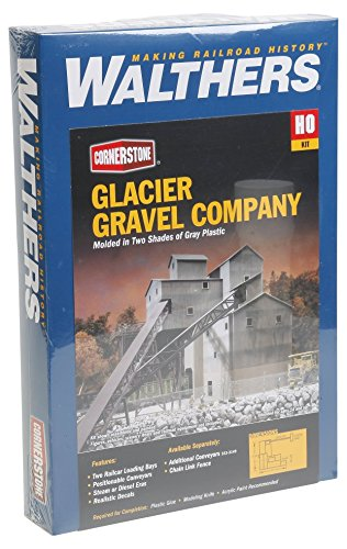 Walthers Cornerstone Series キット HO Scale Glaciar Gravel (海外取寄せ品)