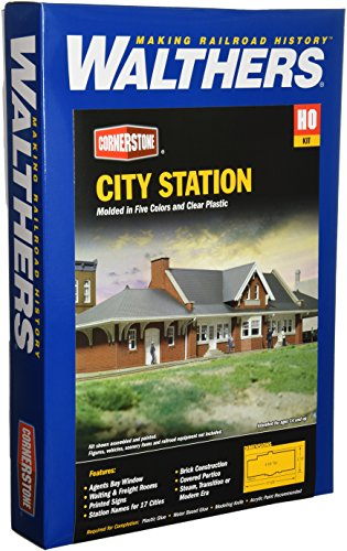 Walthers Cornerstone Series キット HO Scale シティ Station (海外取寄せ品)