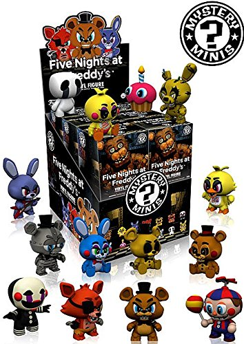 Five ナイト at Freddy's Mystery ミニ Series 1 セット of 12 (海外取寄せ品)