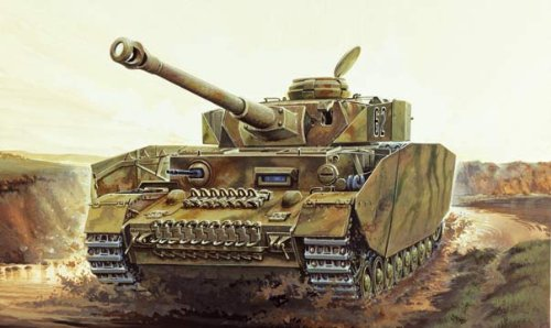 Italeri I6486 Model Tank Panzer Iv Ausf. H On 1:35 Scale (海外取寄せ品)