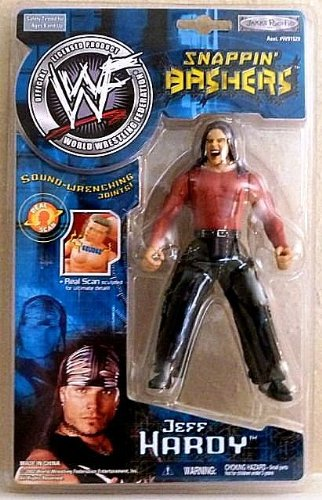 Jeff ハーディ WWF Snappin Bashers with sound wrenching joints by Jakks Pacific (海外取寄せ品)