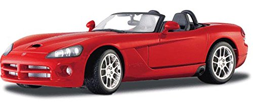 Dodge Viper SRT10 Convertible, レッド - Maisto 31632 - 1/18 Scale Diecast Model Toy Car (海外取寄せ品)