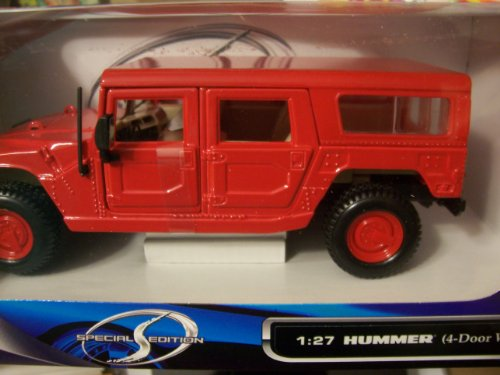 Maisto Special Edition 1:27 Hummer 4-Door Wagon (Red) (海外取寄せ品)
