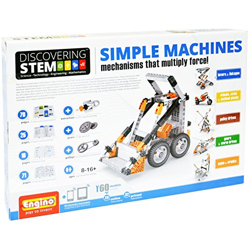 Engino ?Discovering Stem シンプル マシーン Mechanisms That Multiply Force Building キット (海外取寄せ品)