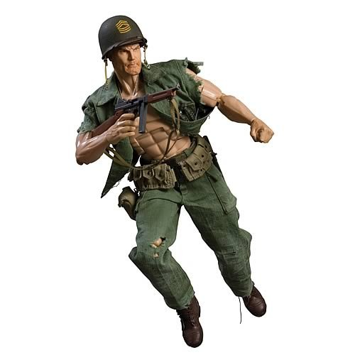 Sgt. ロック 1:6 Scale Deluxe コレクター Figure (海外取寄せ品)