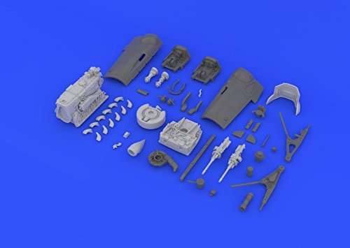 EDU648141 1:48 Eduard Bf 109G-6 エンジン and Guns (for the Eduard kit) [MODEL キット ACCESSORY] (海外取寄せ品)