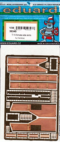 EDU36345 1:35 Eduard PE - T-14 Armata Side スカート (for use with the Takom kit) [MODEL キット ACCESSORY] (海外取寄せ品)