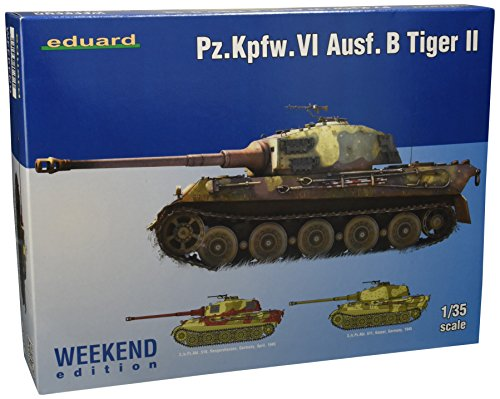 EDU03741 1:35 Eduard Pz.Kpfw. VI Ausf. B タイガー II WEEKEND EDITION [MODEL BUILDING KIT] (海外取寄せ品)