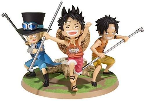 Bandai Tamashii Nations Luffy & Ace & Sabo A Promise of Brothers