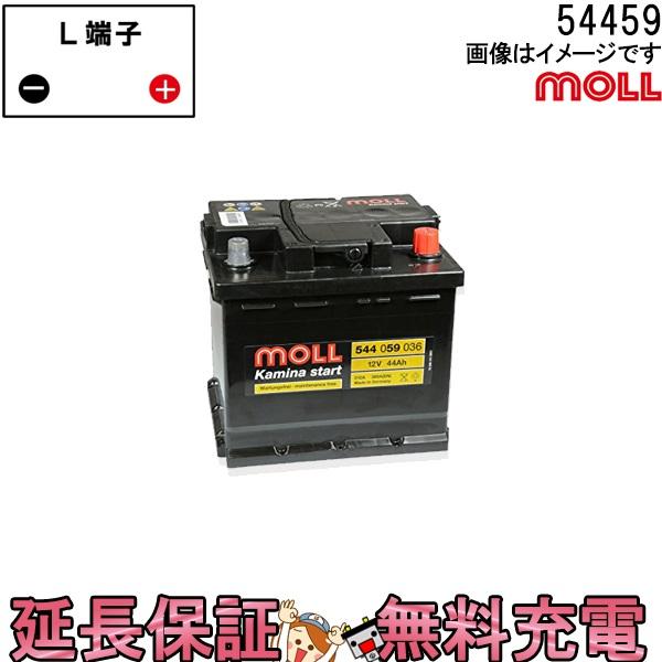 54459 自動車 バッテリー モル 交換 MOLL 欧州車 外車 Kamina