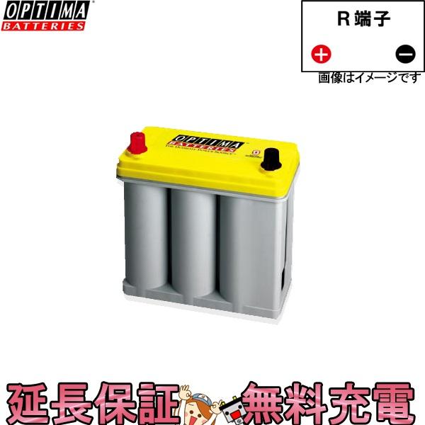 80B24R YTB24R オプティマバッテリー イエロー 自動車 バッテリー プリウス 使用可