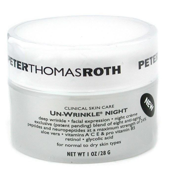 Peter Thomas RothUn-Wrinkle RothUn-Wrinkle Night Creamピータートーマスロスアンリンクル ナイトクリーム Thomas 28g Night/1oz【海外直送】, ならけん:d1acc629 --- officewill.xsrv.jp