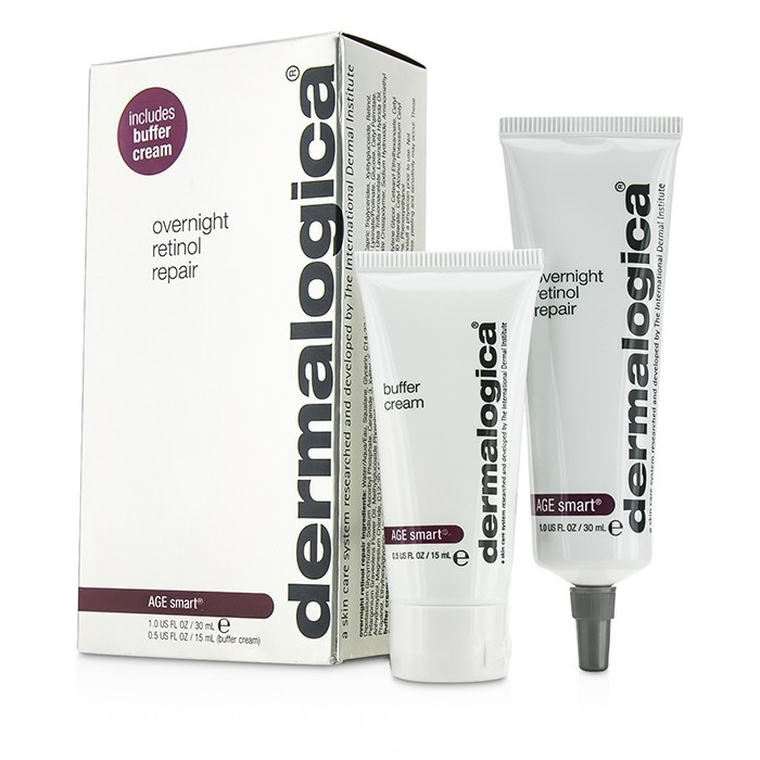 DermalogicaAge Smart Set: Overnight Overnight Retinol Repair 30ml Smart 30ml + Buffer Cream 15mlダーマロジカAge Smart Set: Overnight Ret【海外直送】, 極味道:85345627 --- officewill.xsrv.jp