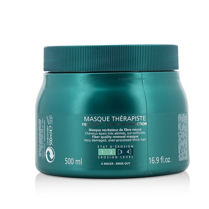 KerastaseResistance Masque Therapiste Fiber Quality Renewal Masque (For Very Damaged Over-Processed Thick Hair)ケ【海外直送】