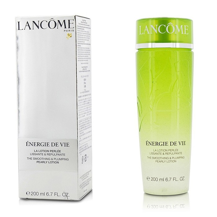 Lancome Energie De Vie Smoothing & Plumping Pearly Lotion - For All Skin Types, Even Sensitive (Made in Japan) ラ 【海外直送】